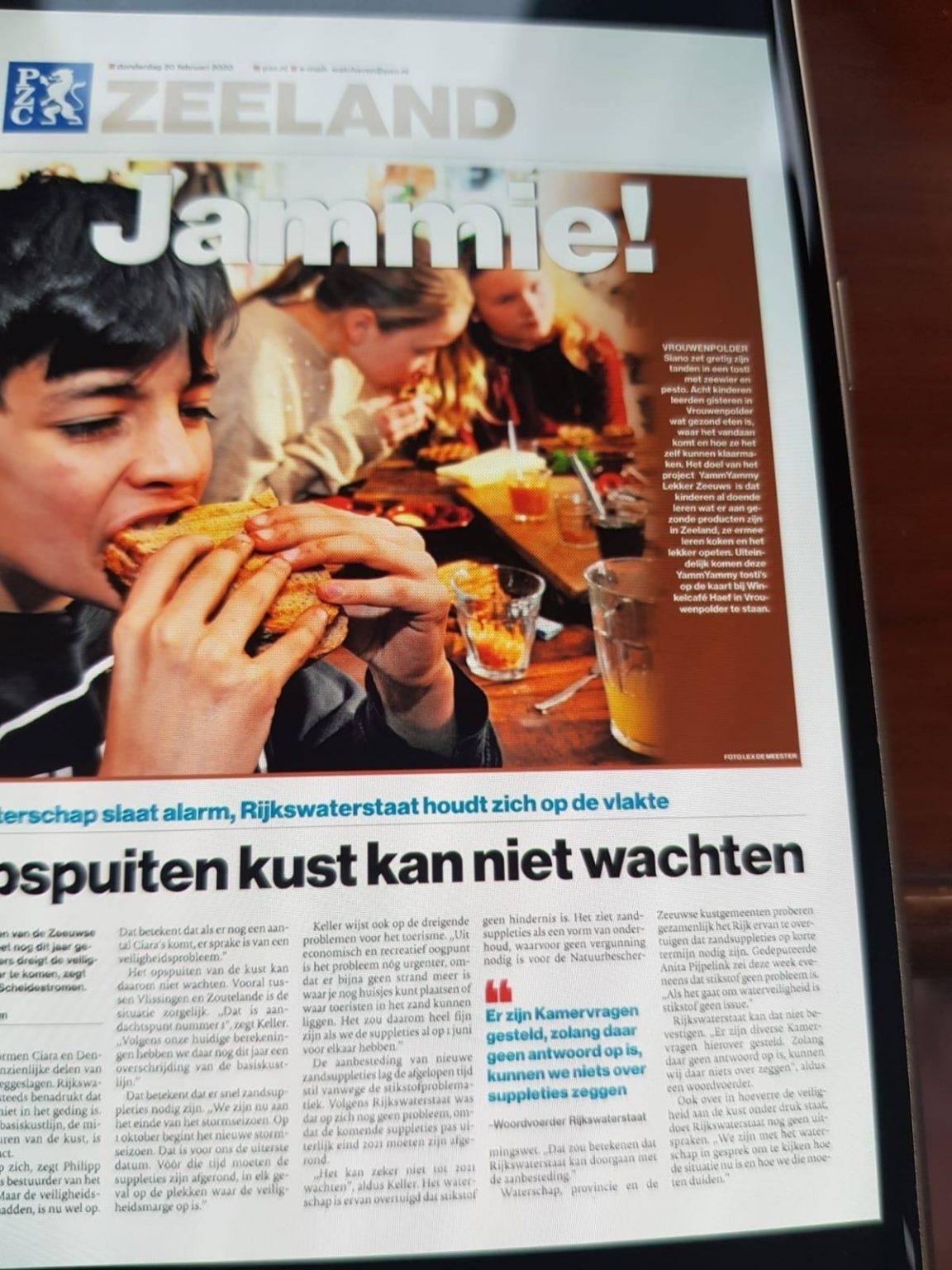 De eerste Zeeuwse YY-tosti's bij Haef in Vrouwenpolder