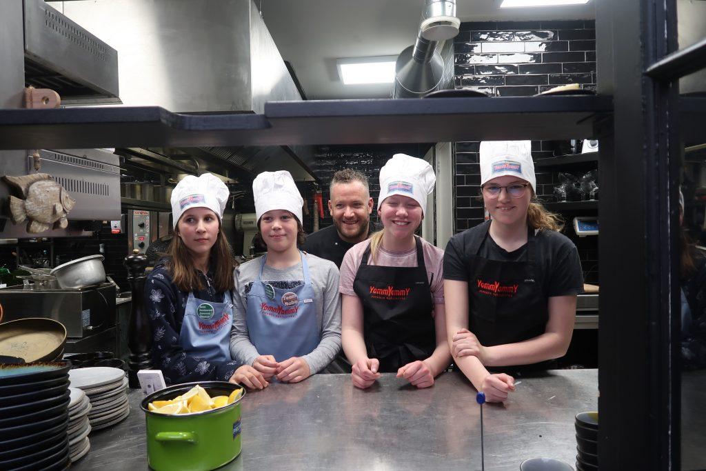 Koken bij restaurant Zeeuwse Streken in Middelburg
