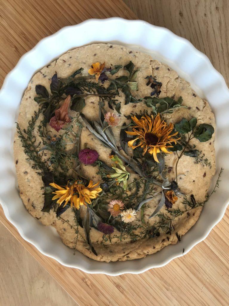 Een taart met bloemen (ja, je kunt hem eten) 1